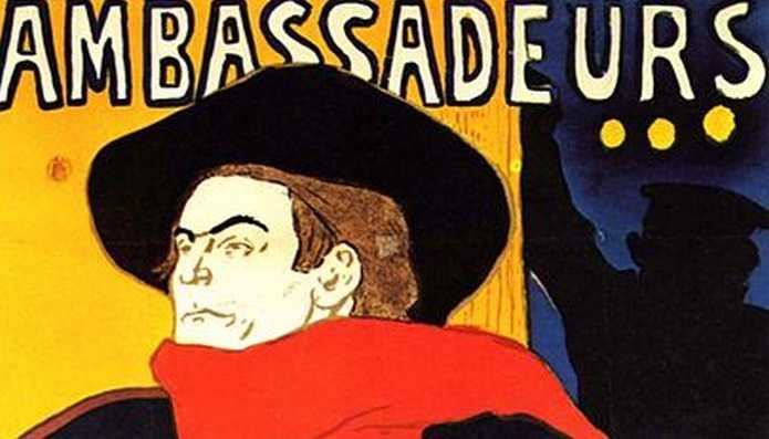 ACADEMIA GRANDE FRANCES Henry de Tolouse-Lautrec Aristide Bruant dans son cabaret