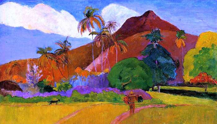 ACADEMIA GRANDE GRADO MEDIO Y SUPERIOR Paul Gauguin Road in Tahiti