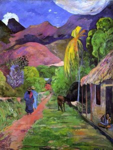 ACADEMIA GRANDE GRADO MEDIO Y SUPERIOR Paul Gauguin  Road in Tahiti