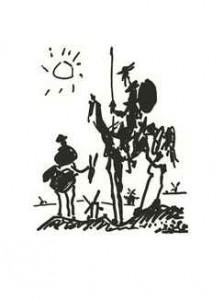 ACADEMIA GRANDE SECUNDARIA Pablo Ruiz Picasso Don Quijote