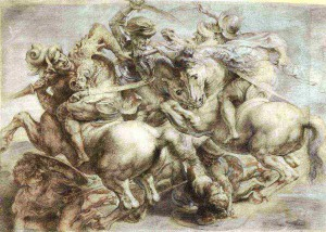 ACADEMIA GRANDE UNIVERSIDAD Leonardo da Vinci Batalla de  Anghiari